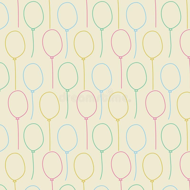fond sans couture de couleur en pastel de ballon illustration de vecteur illustration du. Black Bedroom Furniture Sets. Home Design Ideas