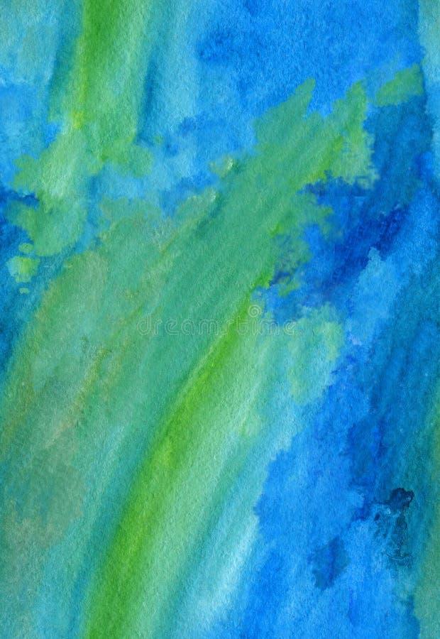Fond sans couture de course d'aquarelle illustration libre de droits