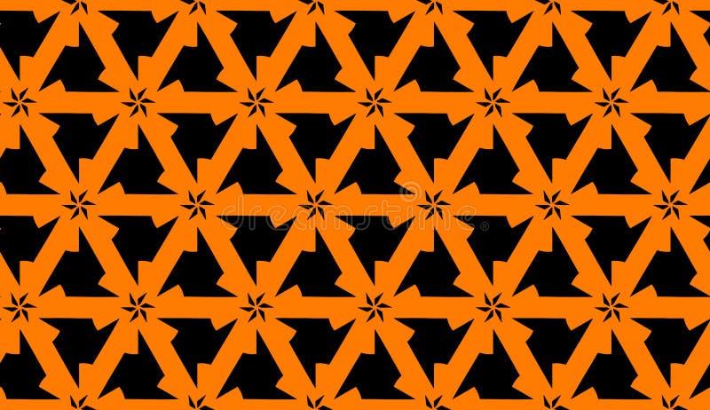 Download Fond Sans Couture De Modèle Illustration de Vecteur - Illustration du contraste, abstrait: 45353115