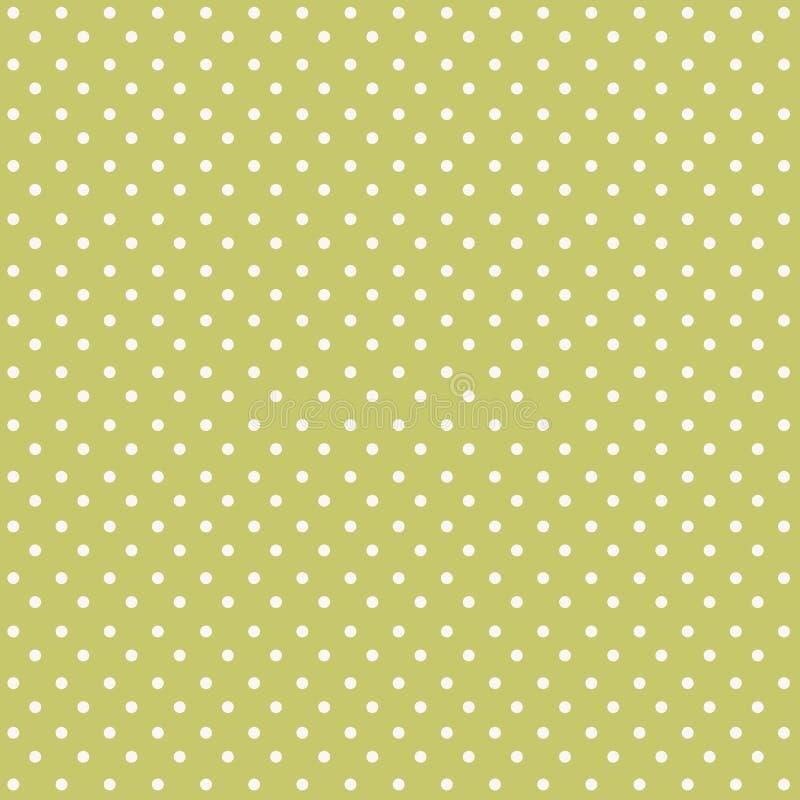 Fond sans couture de modèle de points de polka illustration stock