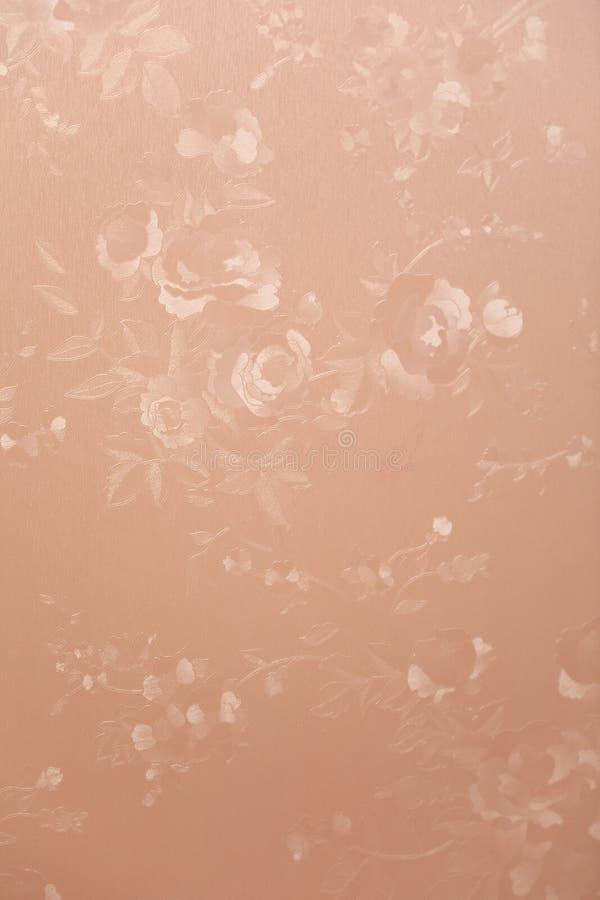 Fond sans couture de modèle La damassé Wallpaper photo stock