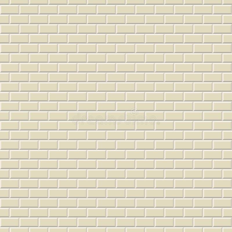 Fond sans couture de mur illustration stock