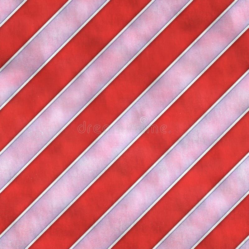 Fond sans couture de texture de tuile de tissu rayé rouge et blanc images stock