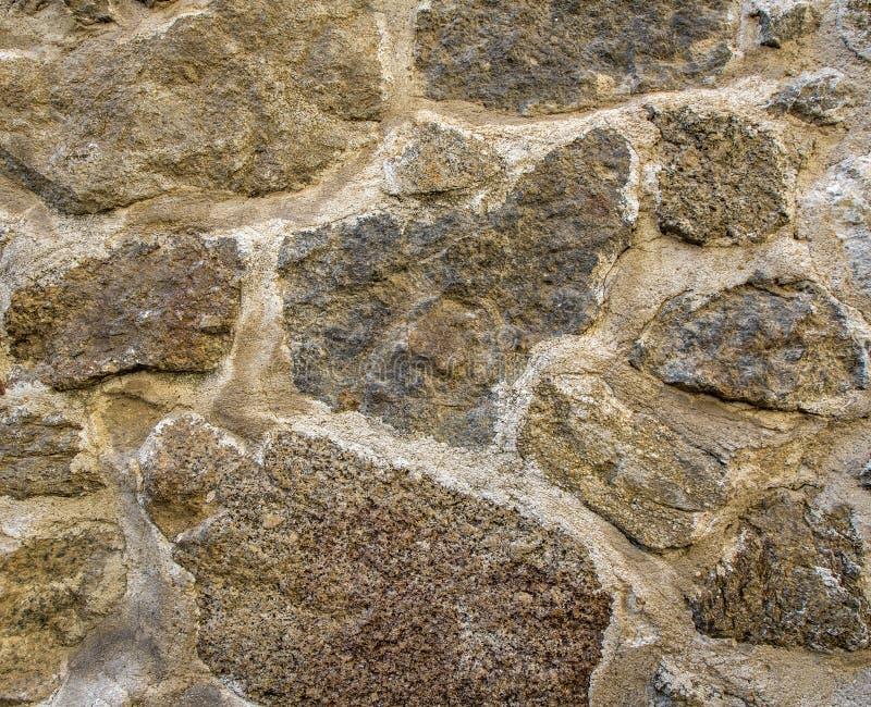 Fond sans couture de texture rustique de mur en pierre grand photos stock