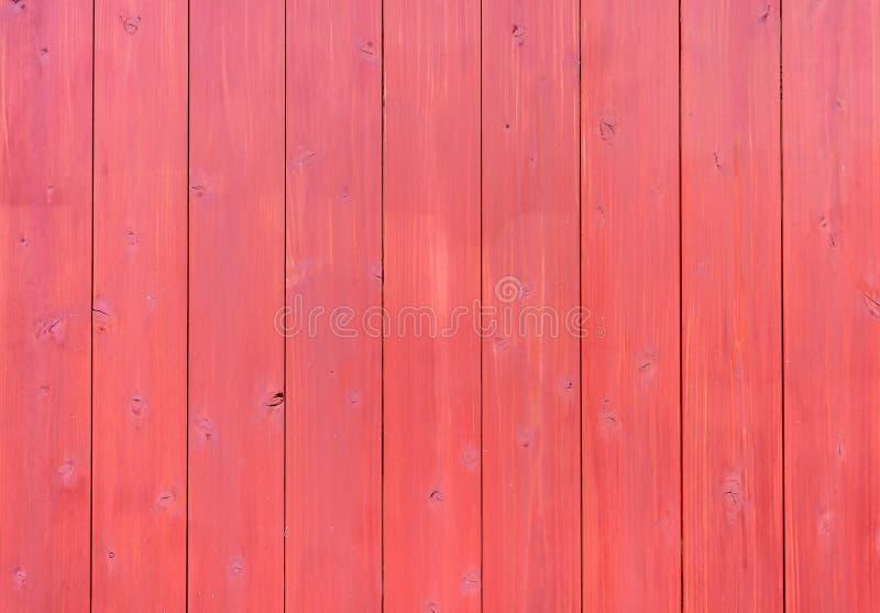 Fond sans couture et texture de mur style en bois rouge de cru de rétro photo stock