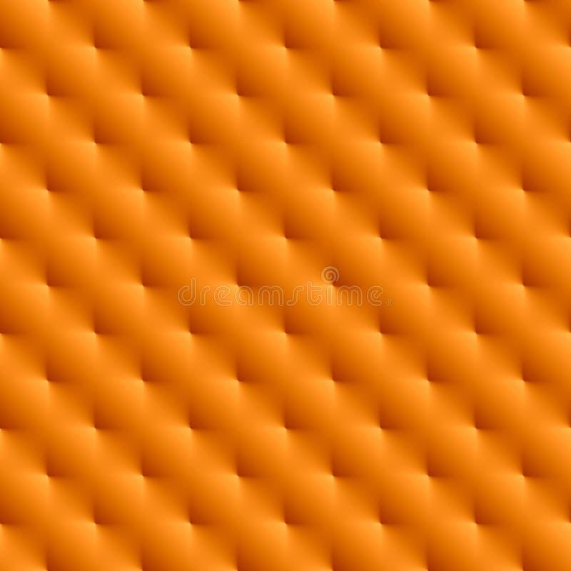 Fond sans couture orange métallique photographie stock libre de droits