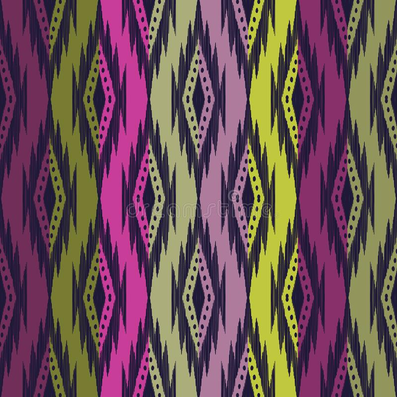 Fond sans couture tribal illustration stock