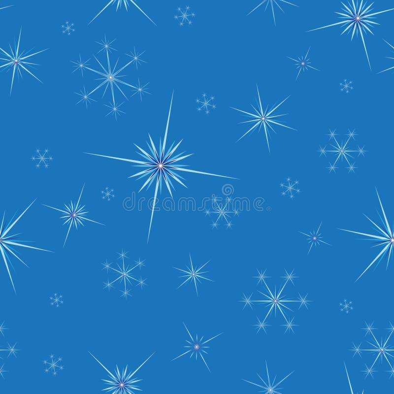 Fond sans joint avec des flocons de neige photographie stock