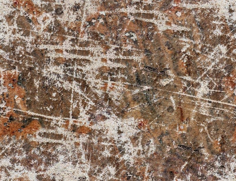Fond sans joint de configuration de cru Vieux papier rayé images stock