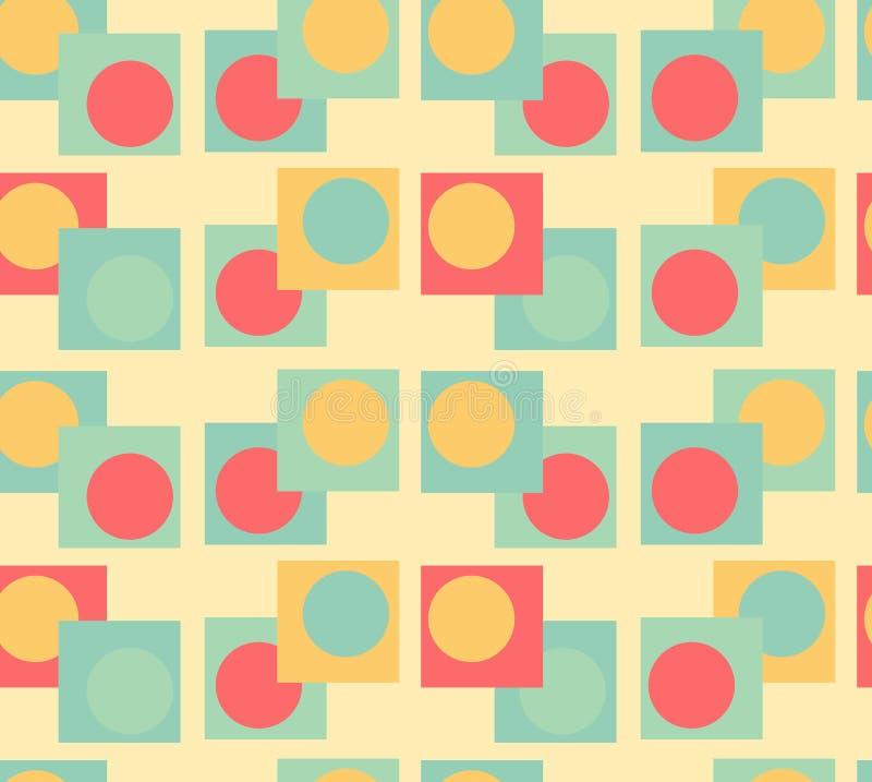 Fond sans joint de la géométrie image libre de droits