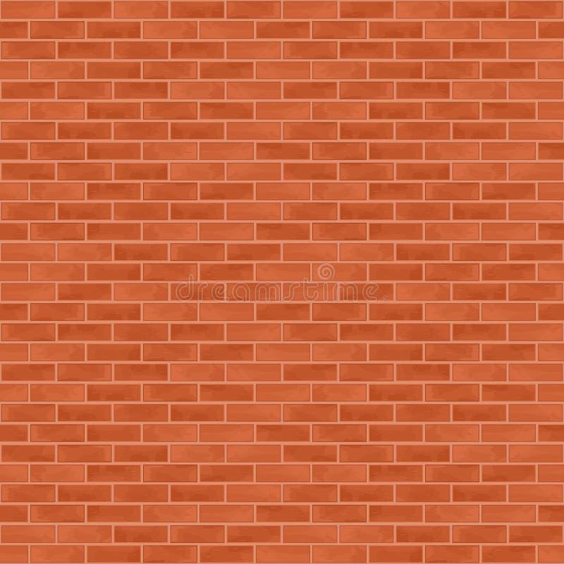 Fond sans joint de mur de briques illustration de vecteur