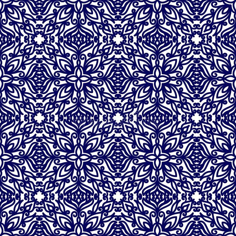 Fond sans joint floral de configuration Pour la décoration de cartes illustration stock