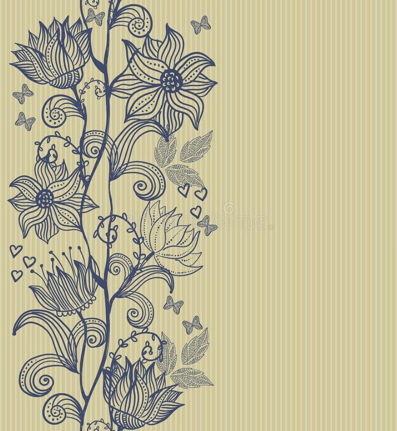 Fond sans joint vertical illustration stock