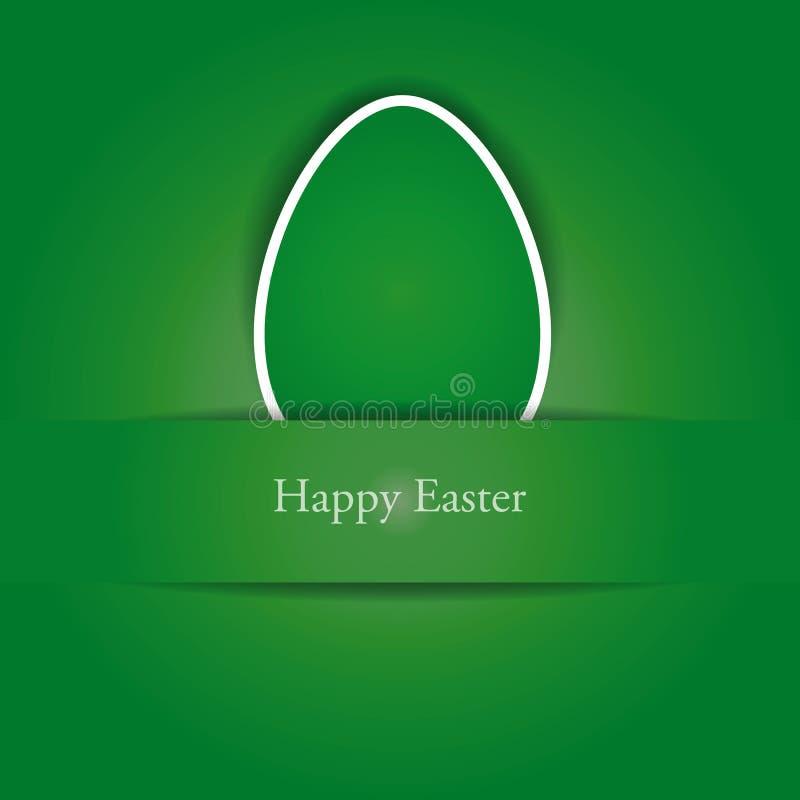 Fond simple créateur sur Pâques illustration de vecteur
