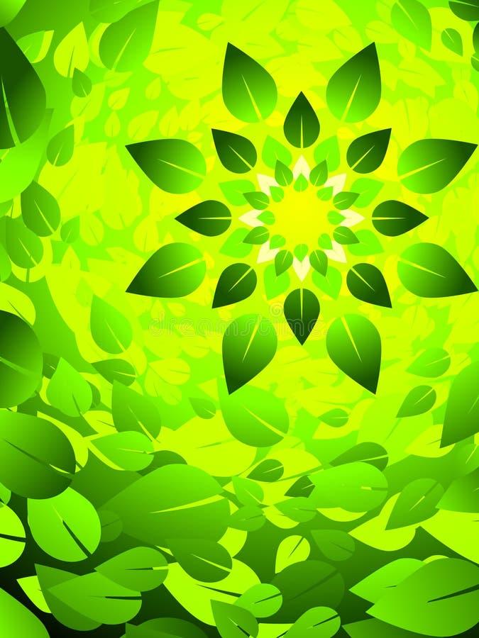 Fond solaire illustration stock