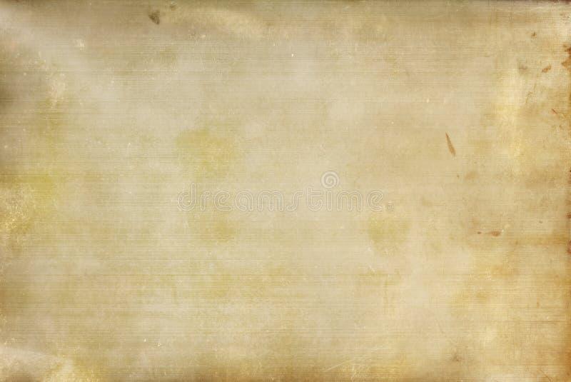 Fond souillé et rayé de vinyle image libre de droits