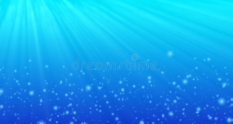 Fond sous-marin illustration de vecteur