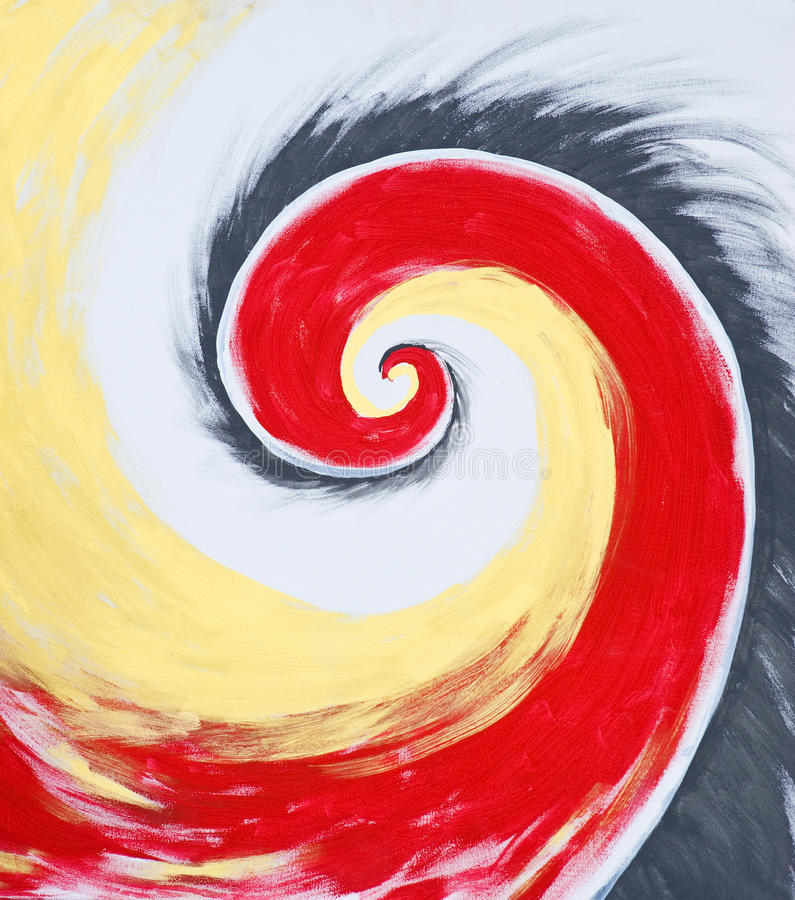 Fond spiralé illustration stock