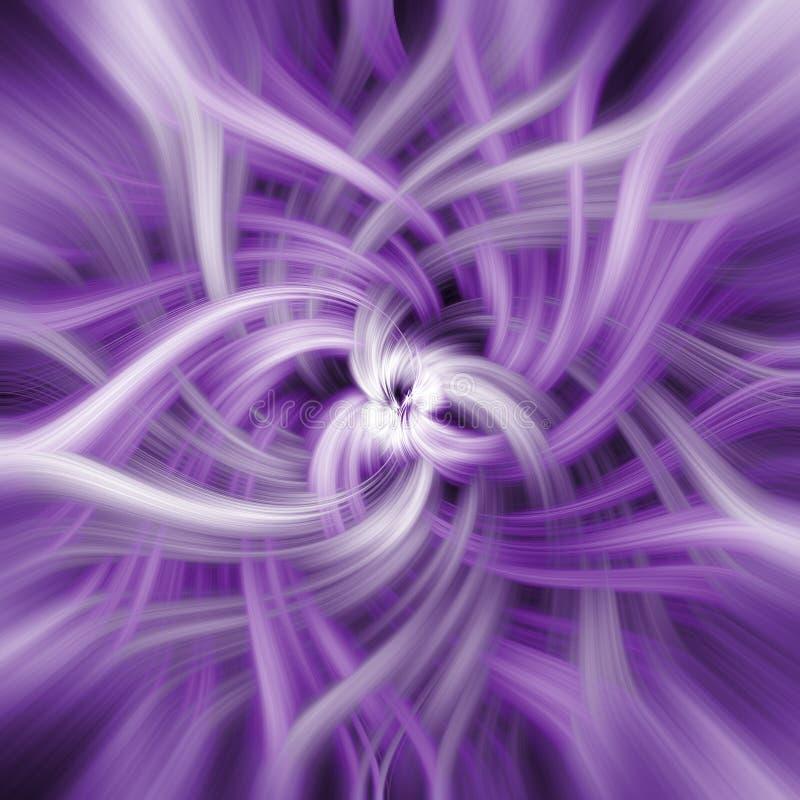 Fond spiralé abstrait illustration de vecteur