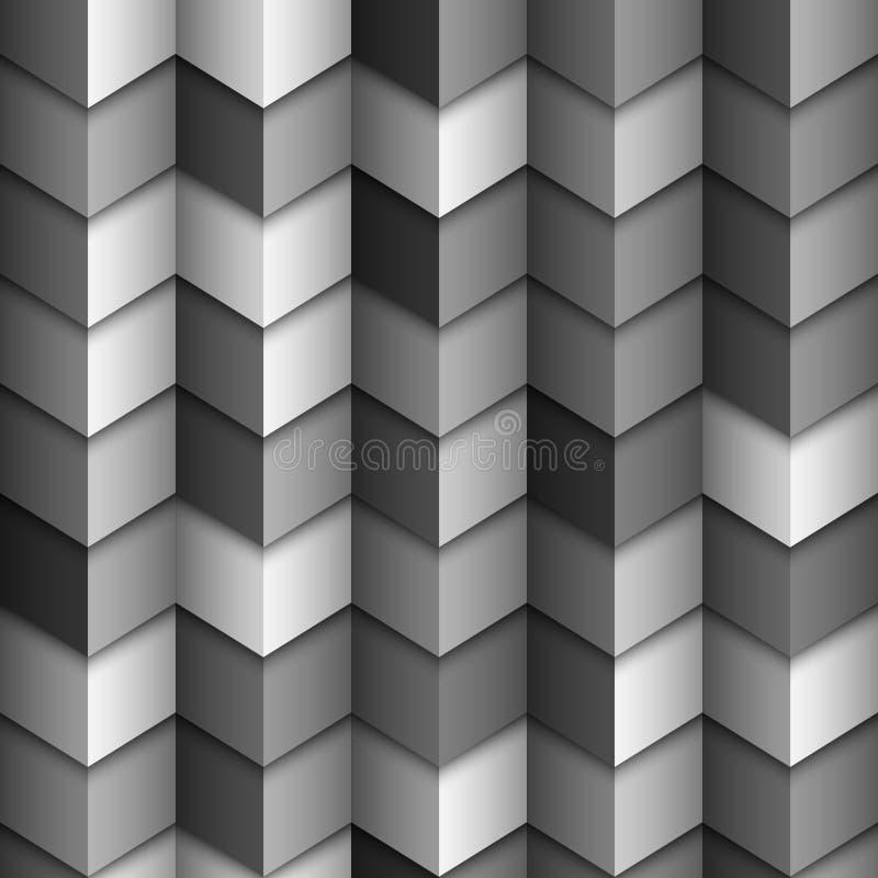 Fond structuré géométrique monochromatique illustration libre de droits
