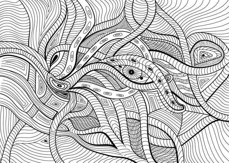 Fond surréaliste abstrait de vecteur illustration de vecteur