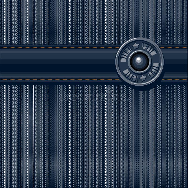 Fond texturisé de jeans illustration libre de droits