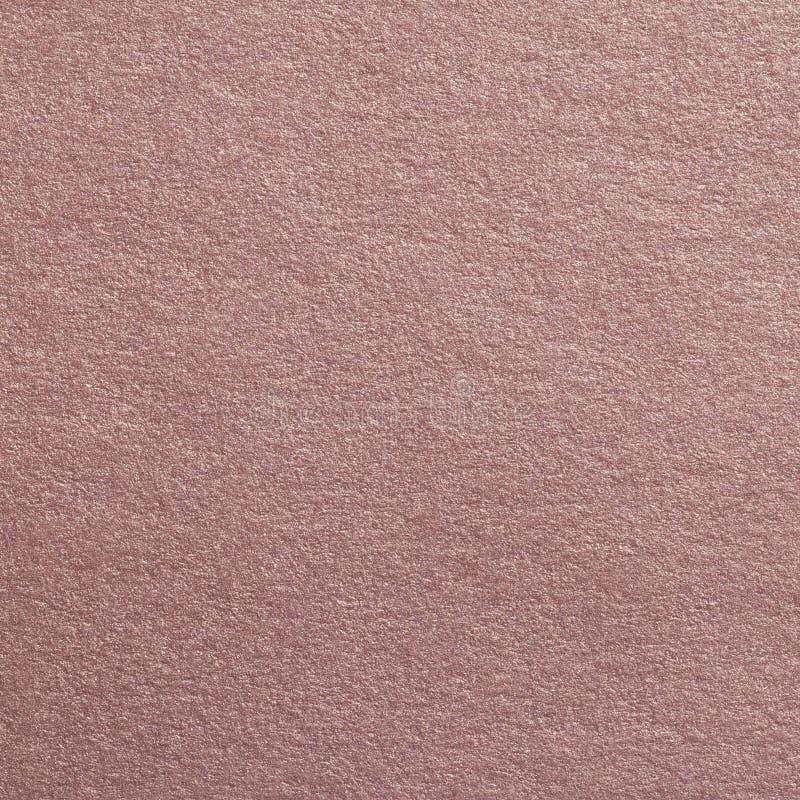 Fond texturisé de papier métallisé par Brown d'art images stock