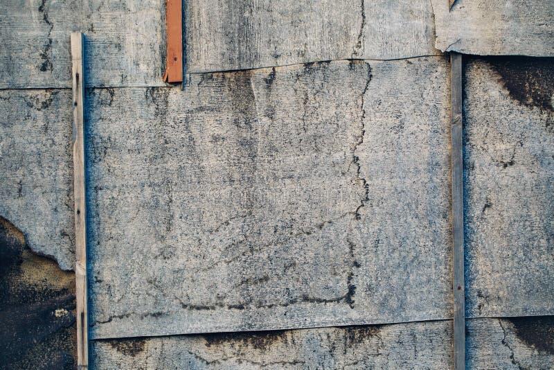 Fond texturisé de papier peint de panneau rouillé en métal images libres de droits