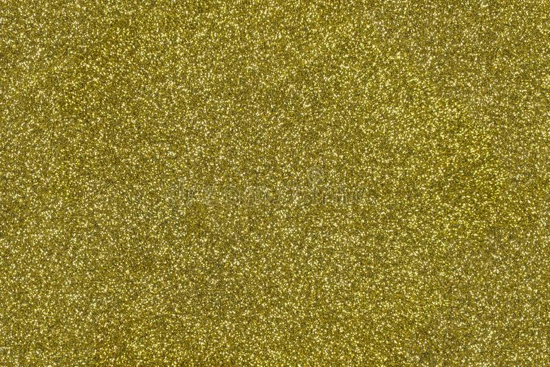 Fond texturisé de scintillement d'or Contexte scintillant brillant photo libre de droits