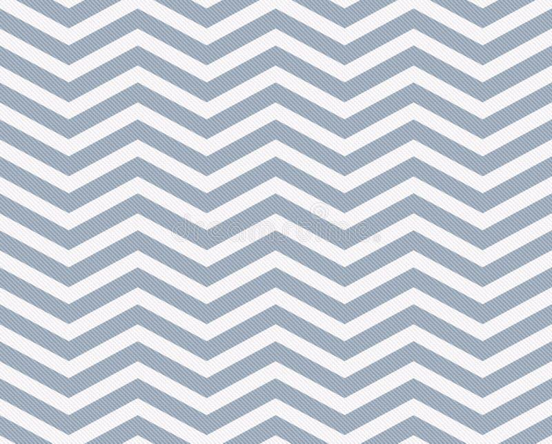 Fond texturisé de tissu de zigzag bleu-clair et blanc illustration de vecteur