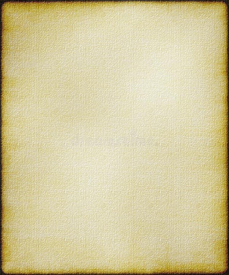 Fond texturisé de toile de sépia images libres de droits