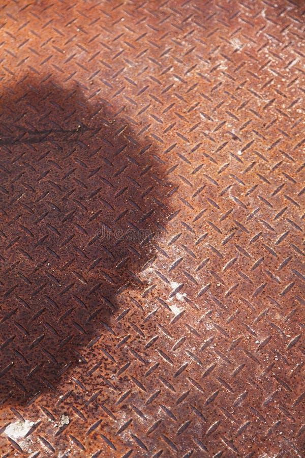 Fond texturisé en métal photographie stock