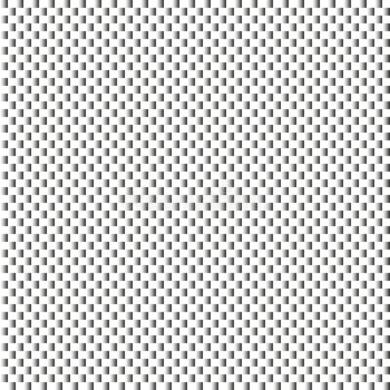 Fond texturisé moderne géométrique noir et blanc illustration stock