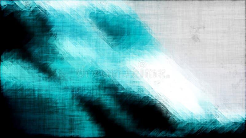 Fond texturisé noir et blanc de turquoise de résumé illustration libre de droits