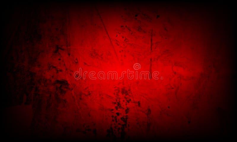 Fond texturisé ombragé rouge avec des effets de la lumière wallpaper Lumineux, composition illustration de vecteur