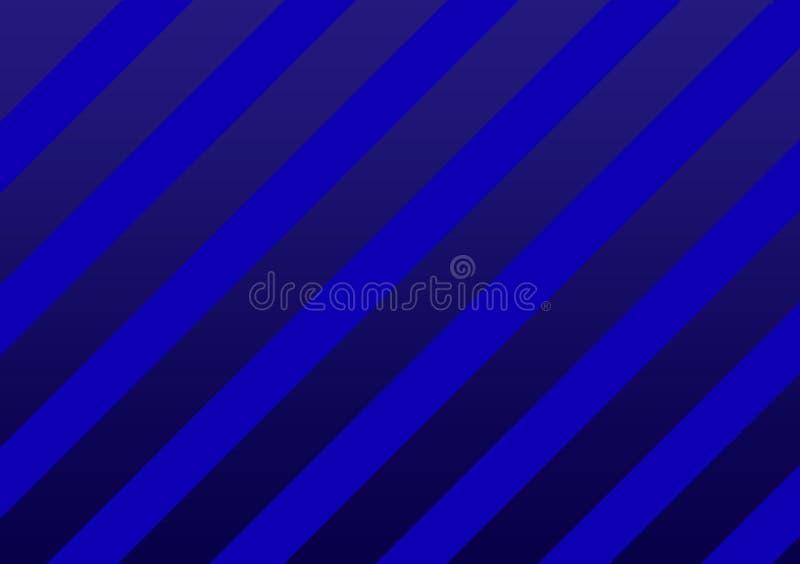Fond texturisé rayé bleu de ruban illustration stock