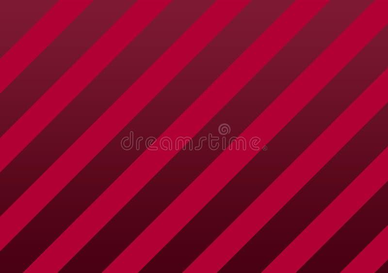 Fond texturisé rayé rose de ruban illustration de vecteur