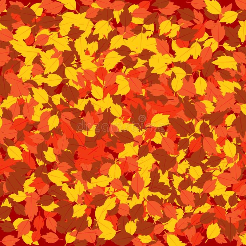 Fond tombé d'automne de feuilles photo libre de droits