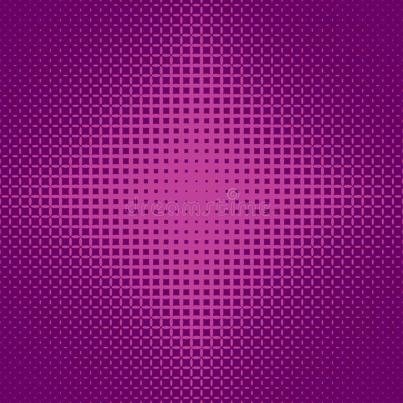 Fond tramé symétrique géométrique de modèle de grille d'ellipse - dirigez la conception illustration libre de droits