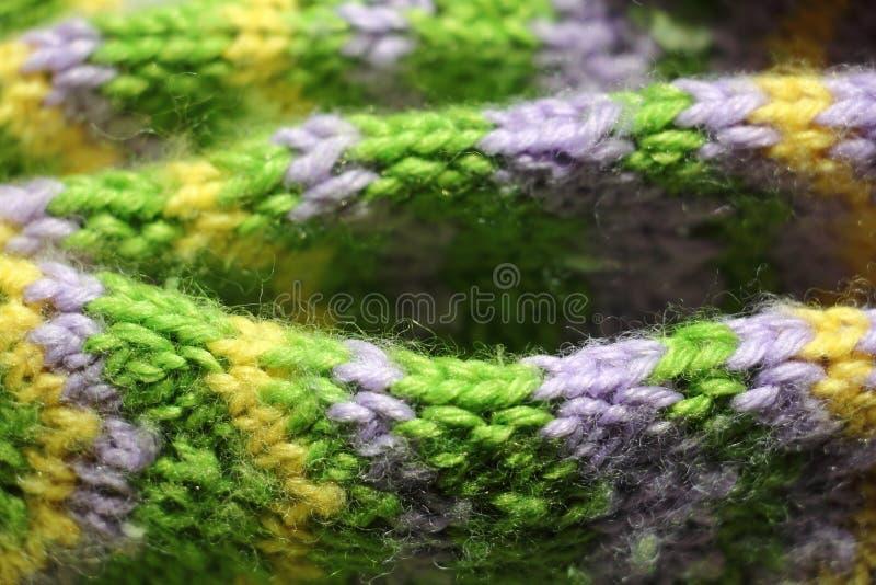 Fond tricoté images libres de droits