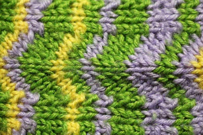 Fond tricoté images stock