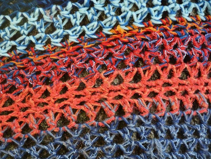 Fond tricoté photo libre de droits