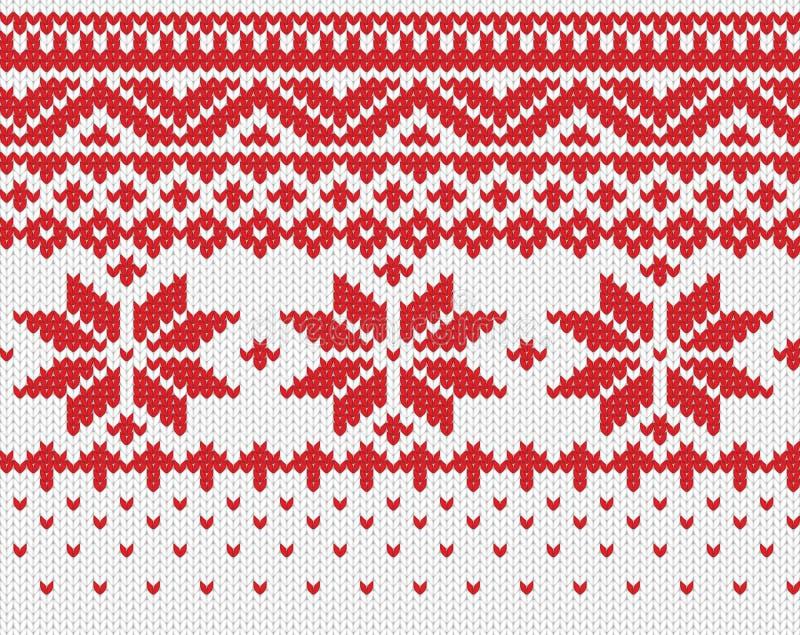 Fond tricoté sans joint illustration stock