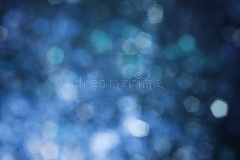 Fond trouble bleu abstrait photos stock