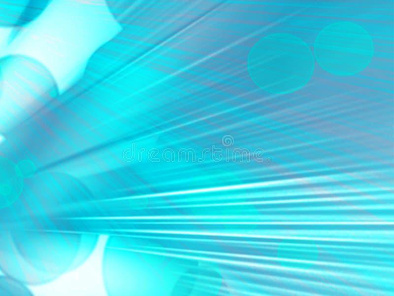 Fond trouble vert abstrait avec le recouvrement lentille de fond illustration stock