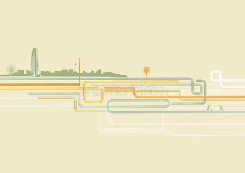 Download Fond urbain illustration de vecteur. Illustration du architecture - 8671247