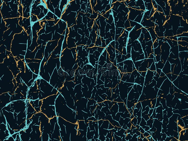 Fond urbain grunge d'éraflure Vecteur de texture Texture d de Marbl illustration de vecteur