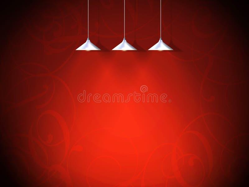 Fond, valentine illustration de vecteur