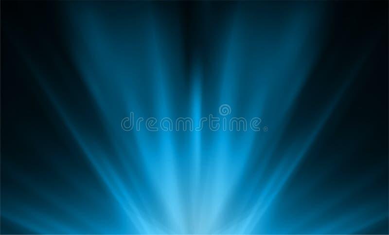 Fond, vecteur et illustration bleu-clair abstraits illustration de vecteur