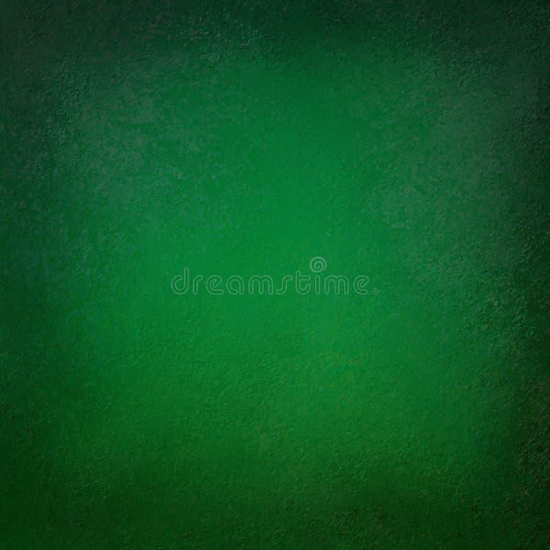 Fond vert élégant avec la texture noire et la vieille illustration grunge affligée de frontière de cru illustration de vecteur
